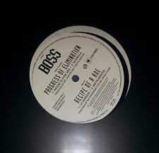 """BOSS - Progress.. / Recipe Of A Hoe 12"""" Promo 1993 RAR# Eazy E Ice Cube NWA BO$$"""