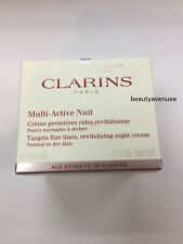 Clarins Multi-Active Nuit Revitalizing Night Cream Normal to Dry Skin 50ml