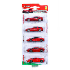 "Ferrari 812 Superfast GTC4 LaFerrari 488GTB & Enzo Set of 2.75"" cars by Burago"