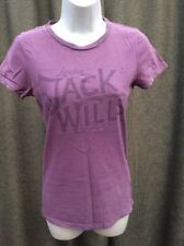 Jack Wills Cotton No Pattern Short Sleeve T-Shirts for Women