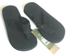 REEF Sandy Sandals Flip Flops Thong Black Cushion Women's Size 5 NWT