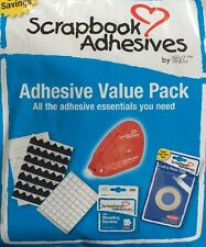 Scrapbook Adhesives Essentials Kit *New* 5 Pieces