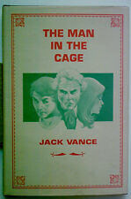 "THE MAN IN THE CAGE - JACK VANCE- "" SIGNED "" 1ST. EDITION  -  EDGAR WINNER 1983"