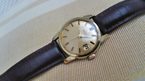 Vintage Omega automatic men's watch, steel & gold, 503-2849, runs