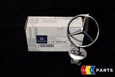 NEW Genuine Mercedes-Benz MB C E Chrome Star Bonnet badge emblème A2218800086