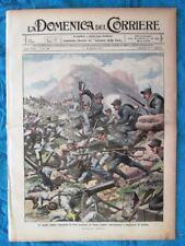 La Domenica del Corriere 10 ottobre 1915 WW1 Alpini Monte Coston - Carnia