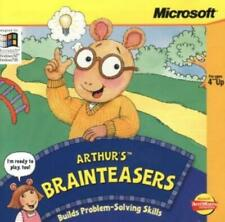 Arthur's Brainteasers Pc Cd build problem-solving skills kids thinking game! 4+