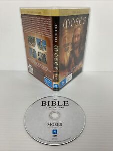 The Bible Collection Moses  R4 DVD Ben Kingsley VGC Free Tracked Postage