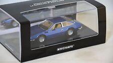 MINICHAMPS 436103400 - Lamborghini Jarama 1974 bleu  1/43