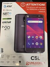 BLU Unlocked C5L 8GB - Black ... FREE SHIPPING ... D4