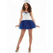 Sexy Tutu Sailor Costume - Womens Fancy Dress - S M