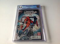 AMAZING SPIDER-MAN 700 CGC 9.6 WHITE PGS RAMOS VARIANT CVR DEATH MARVEL COMICS A
