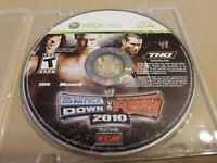WWE SmackDown vs. Raw 2010 Featuring ECW Microsoft Xbox 360, 2009 Disc ONLY