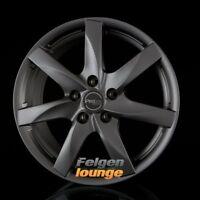 4 Alufelgen ProLine Wheels  BX100 Matt Grey (MG) 7,5x17 ET46 5x108 ML74,1 NEU
