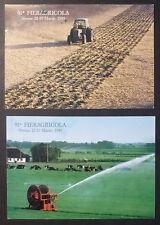 2 ANNULLI + CARD - 91^ FIERA AGRICOLA - VERONA - 1989