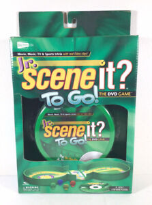 Jr. Scene It? To Go DVD Game Portable Travel Screenlife Optreve