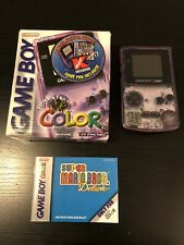 Game Boy Color Atomic Purple Console Limited Edition Bundle K-Mart Edition! Box