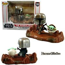 Funko Pop Star Wars The Mandalorian & The Child Television Moments Series #390