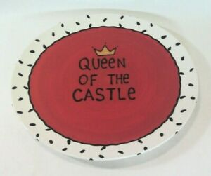 """Our Name Is Mud """"Queen Of The Castle"""" Plate- Lorrie Veasey"""