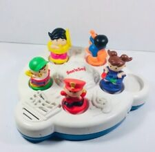 Mattel 1997 SEE' N SAY Musical Band Learning Toy Plays 5 Instruments Tested