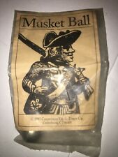 Revolutionary War Musket Ball Sealed Pack 2006 Cooperman Fife & Drum Co