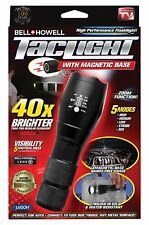 Bell and Howell Super Bright Tactical LED Flashlight with Magnetic Base - NEW!