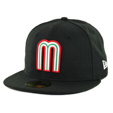 New Era 59Fifty Mexico National Baseball Team Fitted Hat (Black) Men's Cap