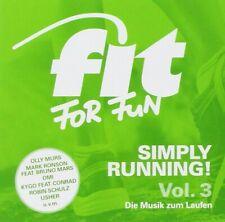 FIT FOR FUN: SIMPLY RUNNING! DIE MUSIK ZUM LAUFEN, 2 CD NEU