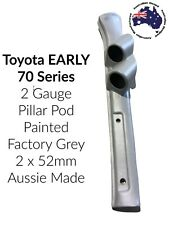 "to suit Toyota Landcruiser Early 79 Series DOUBLE PILLAR POD ""NEW"" PAINTED GREY"