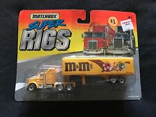 Matchbox Super Rigs M&M's