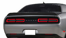 DODGE CHALLENGER FLUSH MOUNT FACTORY STYLE UNPAINTED REAR WING SPOILER 2015-2016
