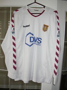 Aston Villa Drobny Game Worn/Match Used EPL Soccer Jersey 2004-05 England, LOA