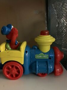 Sesame Street Train With Two Cars