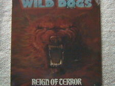 "WILD DOGS ""REIGN OF TERROR"" LP FACTORY SEALED 1987 THRASH SPEED METAL"
