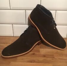 NEW TED BAKER TORSDI3 BROWN Suede  BROGUE LACED ANKLE BOOT 7 41 RRP £160