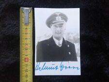 RARE...Helmut Witte...CAPITAINE DU U BOOT U 159 BASE A LORIENT KRIEGSMARINE WW2