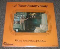 A Warm Family Feeling Ron Johnson~Private Christian Gospel Worship~NM Vinyl~FAST