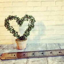 Dolls House 1:12 Heart Topiary Plant Pot
