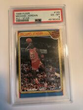1988 Fleer All Star Michael Jordan Bulls 120 Ex-Mint PSA 6