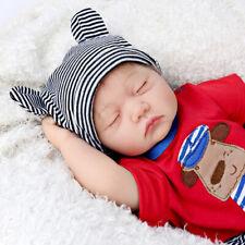 Reallike Newborn Dolls Realistic Silicone Vinyl Reborn Baby Boy Doll Xmas Gifts