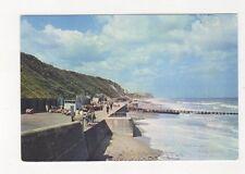 Cromer West Beach & Promenade Norfolk Postcard 930a