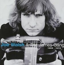JOE WALSH & THE JAMES GANG THE BEST OF 1969-1974 CD NEW