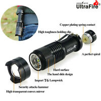 50000LM T6 LED Camping Flashlight Torch 3 Modes Zoom Tactical 14500 Lamp Light