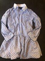 Ralph Lauren Preppy Button Down Dress Size 8 Girls