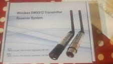 Alien. DMX512 Wireless Transmitter Built-in Battery Receiver Stage Lights 2.4G
