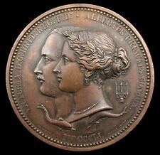 More details for 1851 great exhibition 64mm juror's medal - by wyon