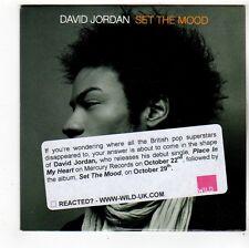 (FS249) David Jordan, Set The Mood sampler - 2007 DJ CD
