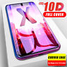 10D Full Tempered Glass Screen Protector for iPhone 6 7 8 Plus X XR XS Max Y01