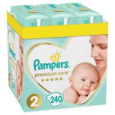 Doppelpack 480St 0,18€/St Baby Windeln Pampers Premium Care 2 Gr 2 Windel 4-8kg