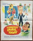 Affiche LA RENCONTRE DE LAUREL ET HARDY Further Perils of Laurel & Hardy 45x56 *